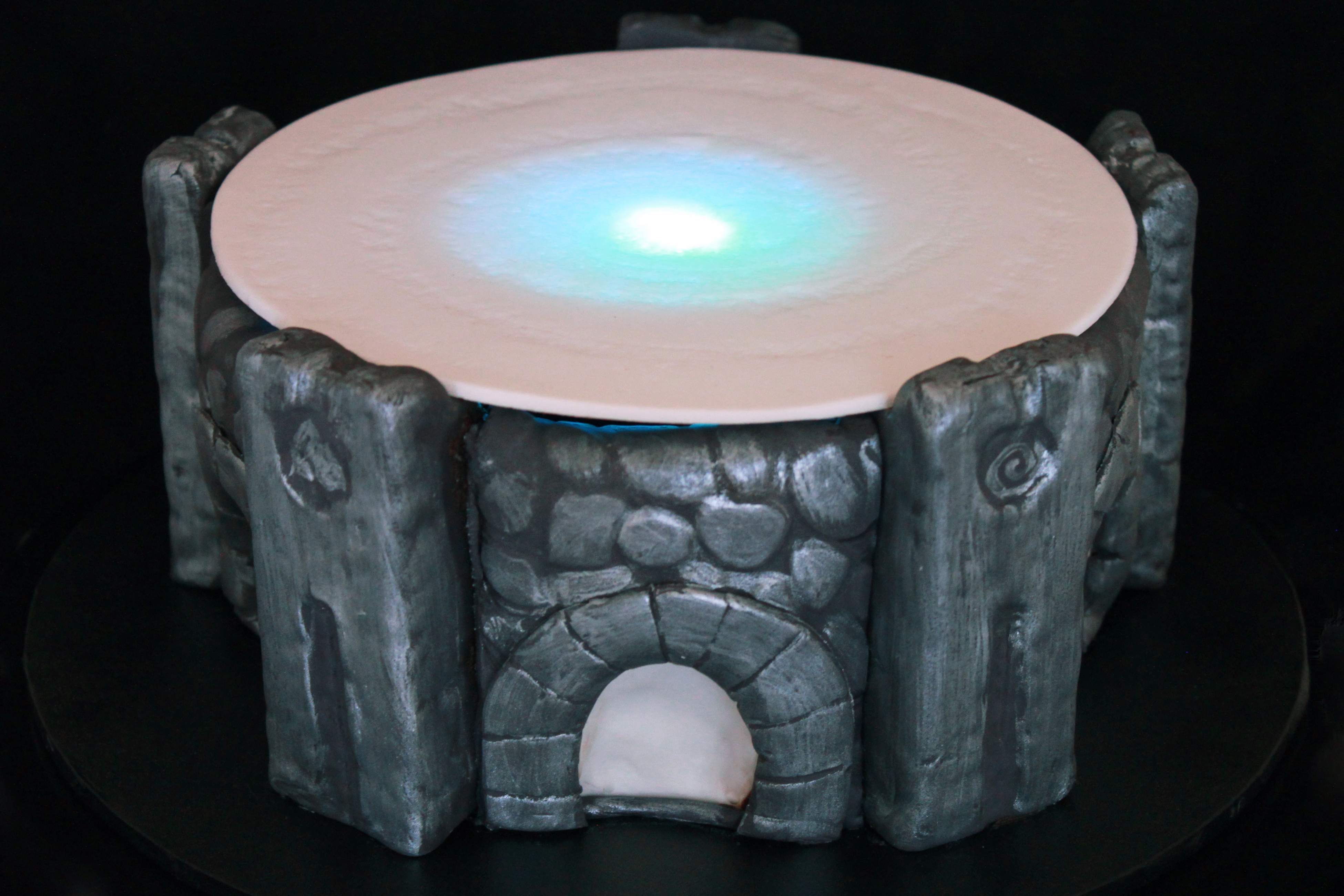 Marvelous photograph of went with an actual Skylanders toy for the top of my portal cake as  with #2199AA color and 3900x2601 pixels