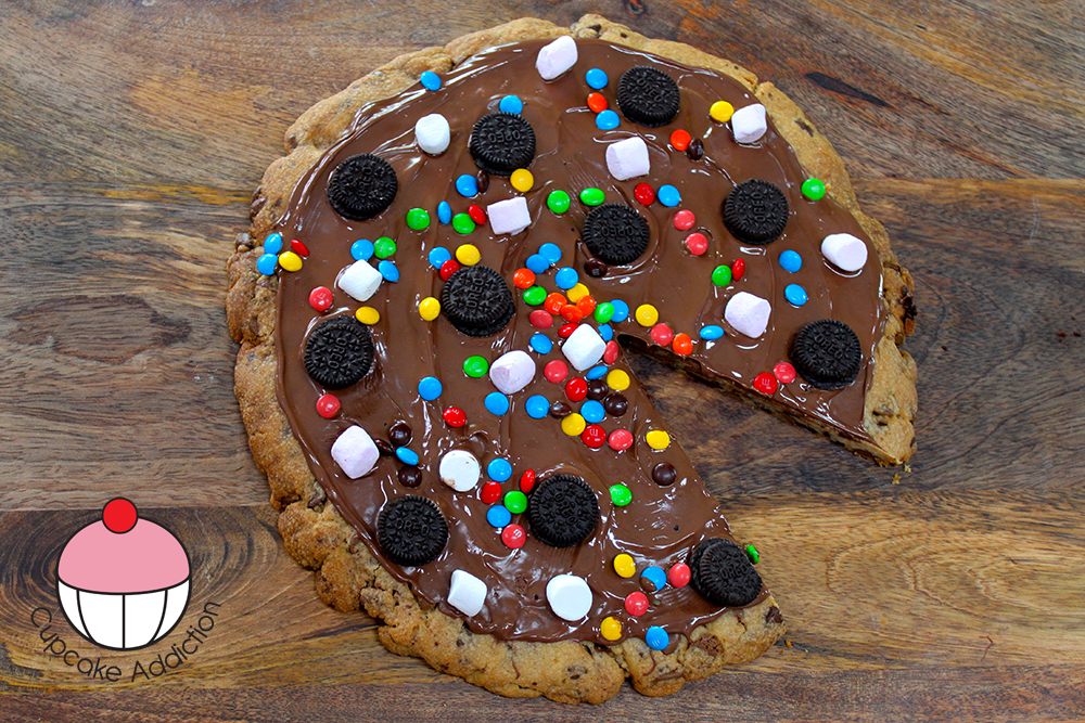 Chocolate Chip Pizza Recipe Chocolate Chip Cookie Pizza