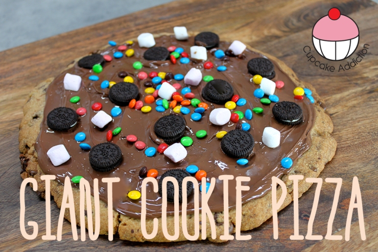 giant cookie pizza