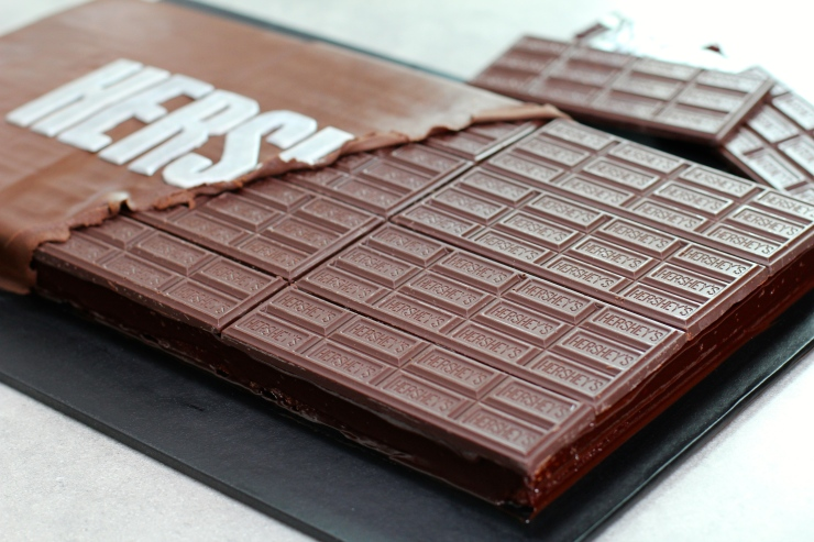 Giant Chocolate Bar Cake