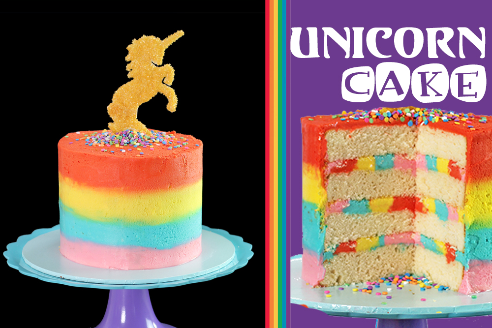 Unicorn Cake Making Kit