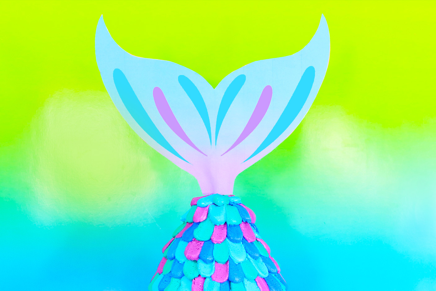 photo regarding Mermaid Tail Template Printable named Mermaid Tail Cake!